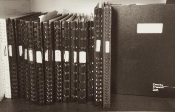 blueline notebooks